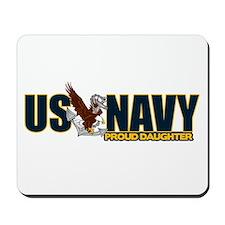 Navy Daughter Mousepad