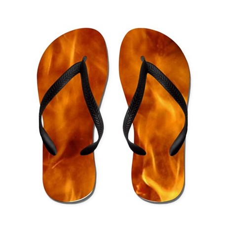 Flaming Flip Flops
