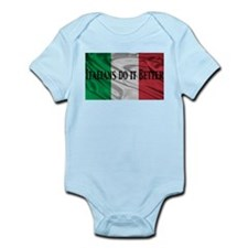 Italians Do It Better Infant Bodysuit