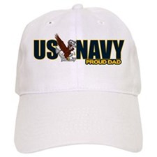 Navy Dad Baseball Cap