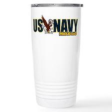 Navy Dad Travel Mug