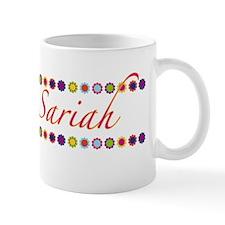 Sariah with Flowers Small Mug
