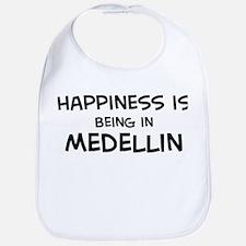 Happiness is Medellin Bib