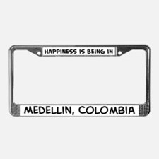 Happiness is Medellin License Plate Frame