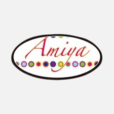 Amiya with Flowers Patches