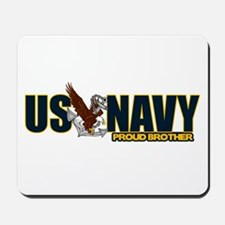 Navy Brother Mousepad