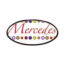 Mercedes with Flowers Patches