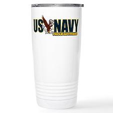 Navy Boyfriend Travel Mug