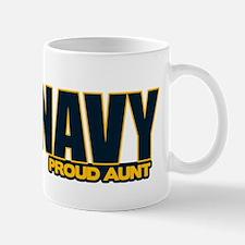 Navy Aunt Mug