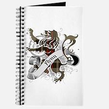 Flynn Tartan Lion Journal