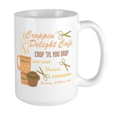Croppin' Delight Cafe V.2 Mug