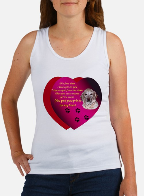 Pawprints 2 Women's Tank Top