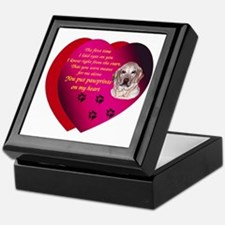 Pawprints 2 Keepsake Box