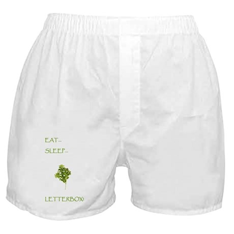 Letterboxing Boxer Shorts 1