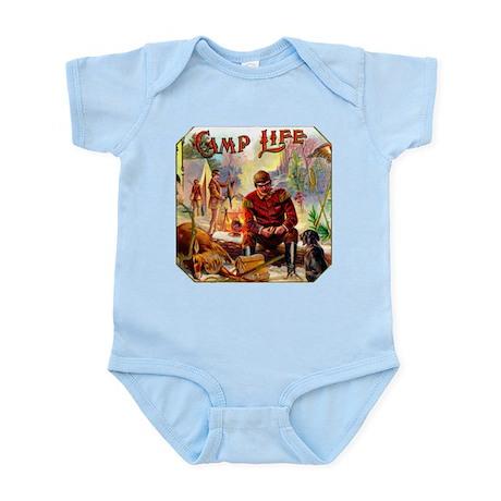 Camp Life Cigar Label Infant Bodysuit