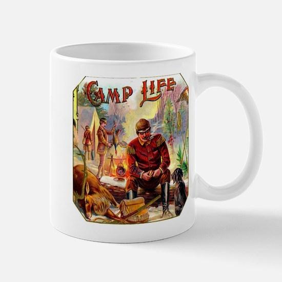 Camp Life Cigar Label Mug