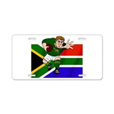 Springboks Rugby Forward Aluminum License Plate