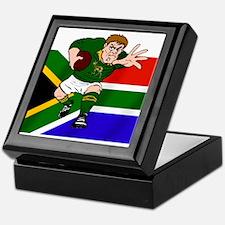 Springboks Rugby Forward Keepsake Box