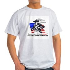 D7 mx2 Ash Grey T-Shirt