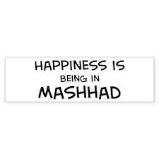 Happiness is Mashhad Bumper Bumper Sticker