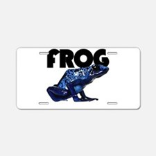 Unique Peace frog Aluminum License Plate