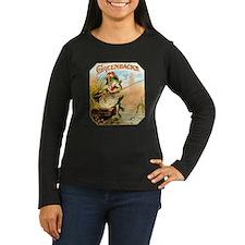 Greenbacks Fishing Frog Cigar Label T-Shirt