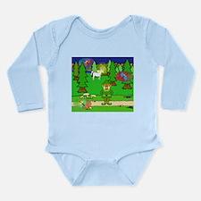 Cute Night elf Long Sleeve Infant Bodysuit