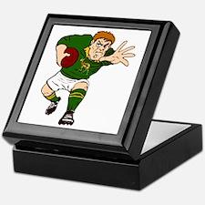 Springboks Rugby Player Keepsake Box