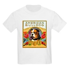 American Bulldog Cigar Label T-Shirt