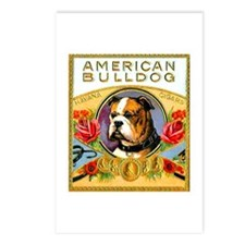 American Bulldog Cigar Label Postcards (Package of