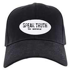 Speak Truth Baseball Hat