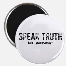 "Speak Truth 2.25"" Magnet (10 pack)"