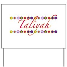 Taliyah with Flowers Yard Sign