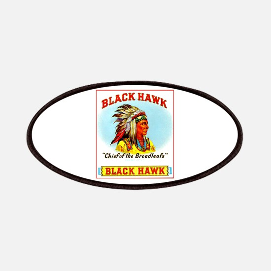 Black Hawk Chief Cigar Label Patches