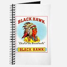 Black Hawk Chief Cigar Label Journal
