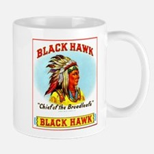 Black Hawk Chief Cigar Label Mug