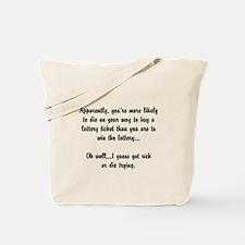motto32 Tote Bag