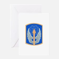 SSI - 166th Aviation Brigade Greeting Card