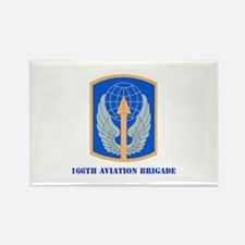 SSI - 166th Aviation Brigade with Text Rectangle M