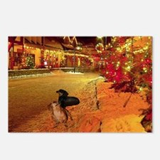 Christmas Town Doxies Postcards (Package of 8)