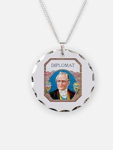 Diplomat Cigar Label Necklace