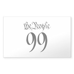 the People 99 black Decal