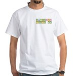 Chemistry Kicks Ass White T-Shirt