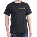Chemistry Kicks Ass Black T-Shirt
