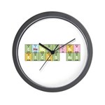 Chemistry Kicks Ass Wall Clock