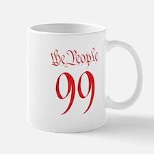 the People 99 red Mug