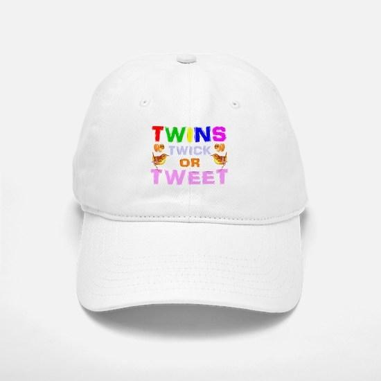 twins trick or treat Baseball Baseball Cap