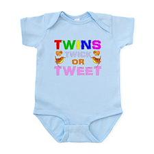 twins trick or treat Infant Bodysuit