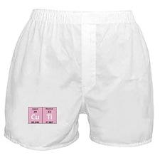 Chemistry Cutie Boxer Shorts