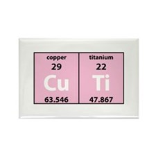 Chemistry Cutie Rectangle Magnet (100 pack)